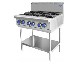 6 Burner Cook Top With Stand At80g6b F