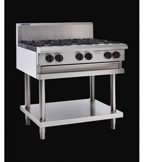 Cooktop - 6 Burners & Shelf - CS-6B