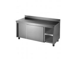Kitchen Tidy with Doors & Splashback - DTHT-1500 B-H