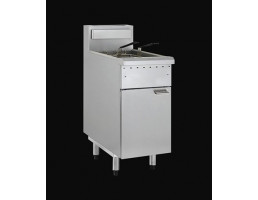 Gas Fryer - Single Pan Twin Baskets - FG-40