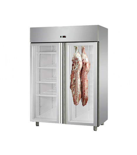 Double Door Dry Aging Chiller Cabinet - Smoking Oven MPA1410TNG
