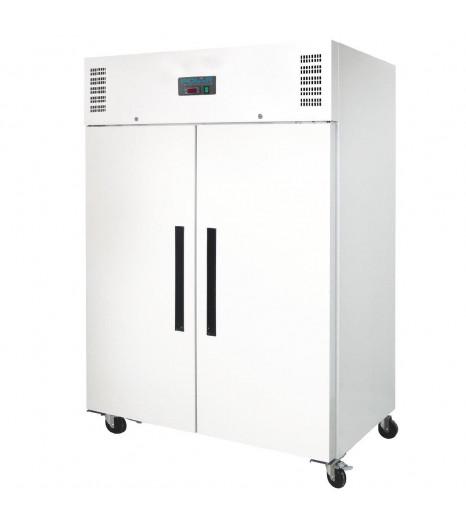2 Door Upright Freezer 1200ltr White ADL897