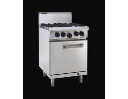 RS-4B 4 Burner Gas Oven 600mm Luus
