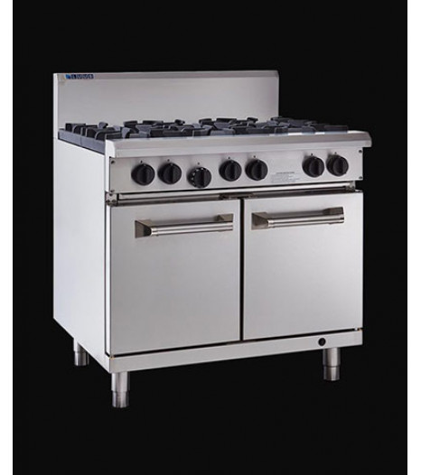 RS-6B 6 Burner Gas Oven 900mm Luus