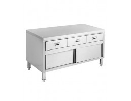 Kitchen Tidy with 3 Drawers & Doors - SKTD-1200