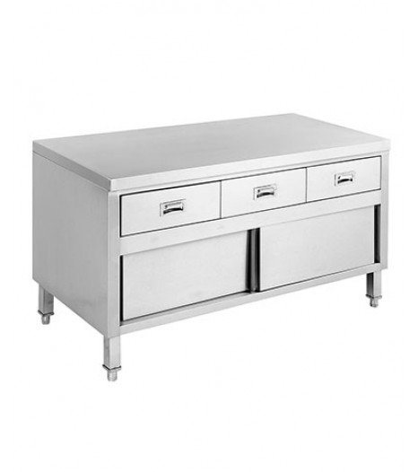 KITCHEN TIDY WITH 3 DRAWERS & DOORS – SKTD-1500