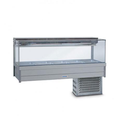 SRX24RD Cold Food Display Bar (Square Glass) Roband