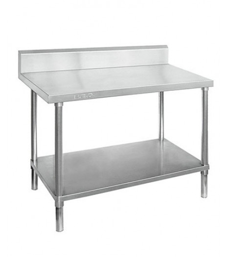 STAINLESS STEEL WORKBENCHES with Splashback - WBB7