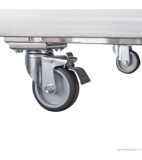 Xurc650s1v Ss Upright Fridge Castor 4 1 1 1 1