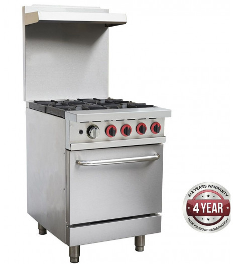 4 Burner With Oven Gbs4t